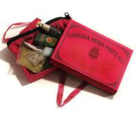 Groß Henna Mendhi Tattoo Box inklusive Schablonen und Henna Öl No Ppd Ty
