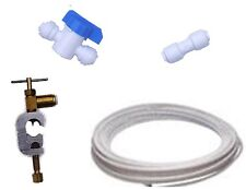 American Fridge Water Filter Plumbing Fitting Connection Kit Pipe Tap Connector