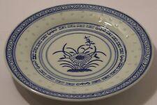 "Plates 25cm/10"" Dia Ceramic Rice Pattern Guaranteed quality 1616"