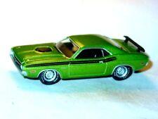 1971 71 DODGE CHALLENGER R/T MOPAR COLLECTIBLE DIECAST TOY CAR -Medium Green