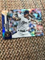 2020 Topps Opening Day Blue Foil #153 Josh Hader - Milwaukee Brewers
