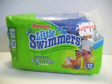 Huggies Little Swimmers Vintage Disposable Swimpants 16-26 lb Unisex Small Pool