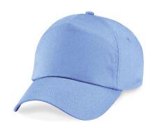 Accessoires casquettes de base-ball bleu pour garçon de 2 à 16 ans