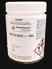 Zinc Chloride 1kg Analytical Grade 98 Butter of Zinc Fast Oz SELLER FREESHIP AU