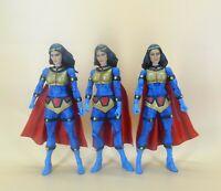 "lot of 3 DC Universe Classics   Wave 7 Big Barda action figure loose 6"""