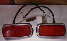 BMW 2002 - 2002tii E10 side Marker lights Lens Set of 2 1968 -1976 rear