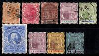 Mauretanien 1879-1921 Gestempelt 100% Königin Victoria, Wappen