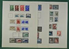 NORWAY STAMPS SELECTION ON 7 ALBUM PAGES  (B265)