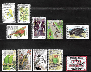 Trinidad & Tobago .. Good stamp collection .. 4518