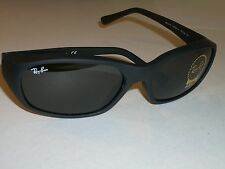 RAY BAN STUNNING RB2016 W2578 BLACK G15 UV PREDATOR WRAPS SUNGLASSES w/CASE BNEW