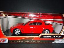Motormax Mazda RX8 Red 1/24