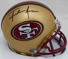 FRANK GORE AUTHENTIC AUTOGRAPHED SIGNED 49ERS MINI HELMET BECKETT 161020