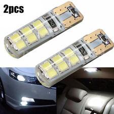 2pcs T10 194 W5W COB 2835 SMD 12LED Car CANBUS Super Bright License Light Bulb
