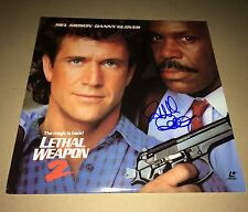 Richard Donner Lethal Weapon 2 - Signed Laserdisc Authentic IN PERSON