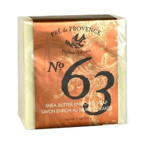 Pre de Provence Men's No 63 Shea Butter Cube Soap 200g 7oz