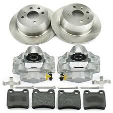 2x Bremssattel + Bremsscheiben + Bremsbeläge hinten Opel Astra F T92 Vectra A