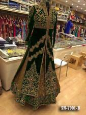 Indian anarkali salwar kameez suit designer bollywood ethnic Pakistani dress !2