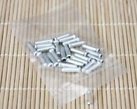 New Silver Bicycle Bike Brake Derailleur Shifter Cable End Caps Tips Crimp