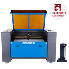 Omtech 100w Co2 Laser Engraver Cutter Etcher 24x40 Inch Bed With Rotary Axis C