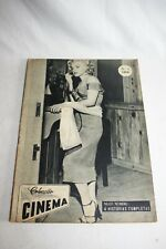 RARE - MARILYN MONROE COVER NIAGARA - Cinema nº3 portuguese magazine