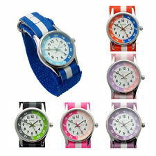 Fabric/Canvas Band Quartz (Battery) Adult Analogue Watches