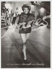 TINA TURNER Hanes Hosiery 1997 Tower Records Go Card Rack Postcard Sexy Legs