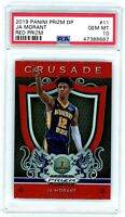 JA MORANT 2019-20 Prizm Draft Crusade RED Rookie Card RC PSA 10 Gem Mint #11