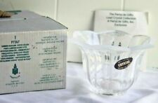 PartyLight 24% Lead Crystal votive candle Holder p7267 Summer Blossom