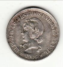 BRESIL PEU COMMUN 1000 REIS 1906 plus petit tirage !!        b1 t8
