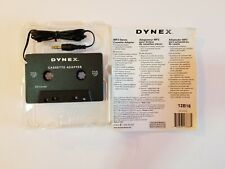 Dynex Dx-Ca103 Mp3 Stereo Cassette Adapter iPod Compatible Open Box 600603138881