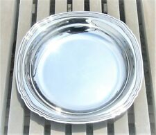 VINTAGE CHRISTOFLE COLL. GALLIA SILVER PLATED ROUND DEEP SERVING PLATTER 10.6""