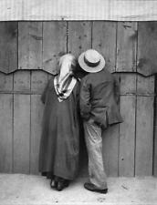 Photo. ca 1921. Hungary.  Cheap Seats at the Circus