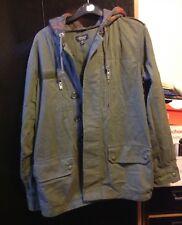 Top Shop Parka Green Coat Size 10, Good Condition (1)