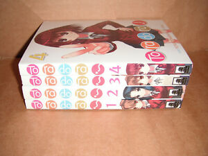 Toradora! Novel Volume 1,2,3,4 Light Novels English