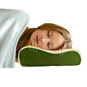 Memory Foam Contour Pillow Orthopaedic Bamboo Pillow For Neck Head Back Support