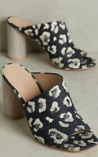 Anthropologie Helena Mules Slides by Pour La Victoire Circular Heel Size 7.5