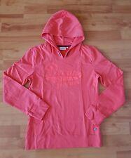 Tom Tailor Sweatpullover Pulli Hoody Gr. 176 XL orange rot mit Kapuze neuwerti