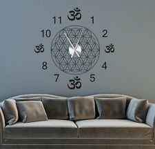 Wanduhr Wandtattoo Wohnzimmer arabisch orientalisch Wandtatoo Uhr Uhrwerk a262