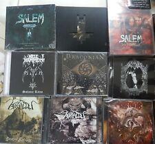 ARALLU - SALEM - HELLHAMMER - BEHEMOTH - DRACONIAN - KREATOR - MORBID CD'S LOT