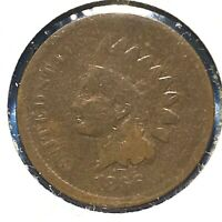 1866 1C Indian Cent (58265)