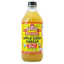 Bragg Organic Apple Cider Vinegar with The Mother Raw-Unfiltered 16 fl oz 946ml