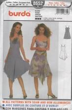 Burda 8652 Misses Designer Hankerchief Skirt Size 6 - 16