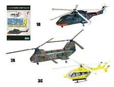 F-toys 1/144 Heliborne Colletion 4 Kind set of 3 EH101+KV107+BK117