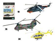 F-toys 1/144 Heliborne Colletion 4 Kind set of 3 EH101+KV107+BK117