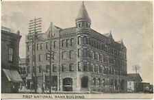 First National Bank Building in Missoula MT Postcard 1916