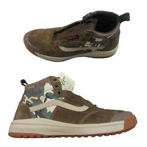 Vans Ultrarange HI DI All Weather MTE Sneakers Mens Size 13 Camo NEW VN0A4BU5TYG