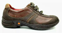 Gravity Defyer By Aiw Womens Brown Leather Casual Lace Up TB618B. Size 9