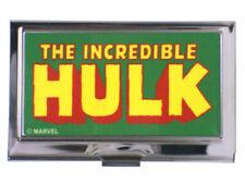Incredible Hulk Business Card Holder Classic Heroes Marvel Comics New