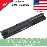 Battery for HP ProBook 440-G0 440-G1 445-G0 445-G1 450-G0 707617-421 708457-001