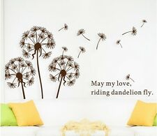 May Love Flower Wall Sticker Removable Kids Nursery Room Decal Home Decor